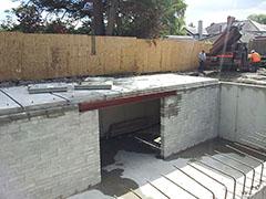 under house retrofit